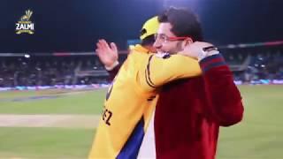 Winning Moments, Peshawar Zalmi vs Karachi Kings #HBLPSL3