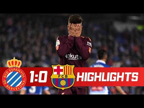 Download Espanyol Vs Barcelona 1-0 Goals & Highlights - Spanish Cup 17/01/2018 HD HD Mp4 3GP Video and MP3