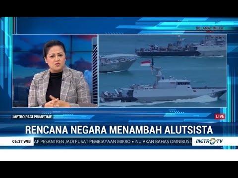 Membeli 48 Jet Tempur, 4 Kapal Selam dan 2 Kapal Corvette Diinisiasi Memperkuat Pertahanan RI
