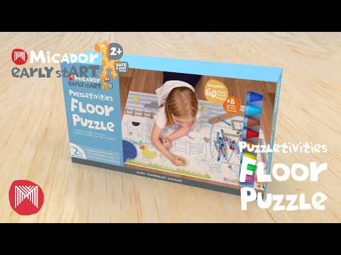 early stART Puzzletivities Floor Puzzle FSC Mix