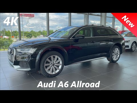 Audi A6 Allroad 2021 - FIRST look in 4K | Exterior - Interior (50 TDI V6 - 286 HP) Visual Review
