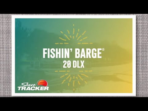 Sun Tracker Fishin' Barge 20 DLX video