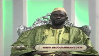tafsir abdourahmane gaye au grand theatre