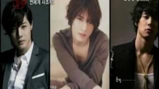 Idol F4 - Kim Hyun Joong ,Jaejoong, Yoochun & T.O.P @ TVN E-News 100710