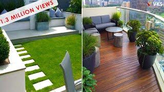 Balcony Terrace Garden Design Decor Ideas   Backyard Seating Decor Interior Design