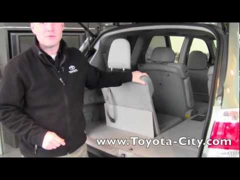 2017 Toyota Highlander Third Row Seat Operation How To By City Minneapolis Mn