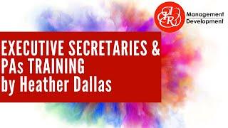 Executive Secretaries and PAs Training Courses