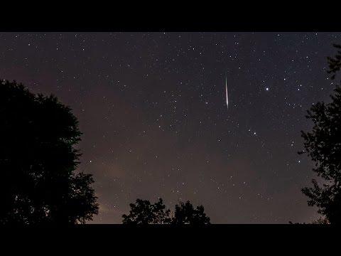 Perseid Meteor Shower August 11/12, 2016 - York, Maine