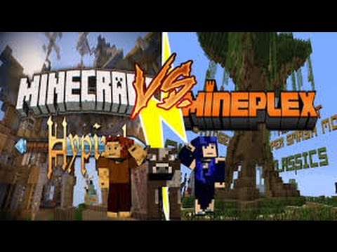 Minecraft I Hypixel Gameplay With Mineplex Chest Unboxing