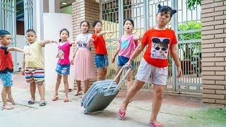 Kids Go To School   Chuns Traveling Have Fun With Your Friends For The Last Time