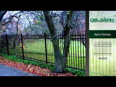 Aero Grade Fence - Delgard Aluminum Fences