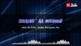 SHOLALLOHU 'ALA MUHAMMAD Lirik Arab   latin