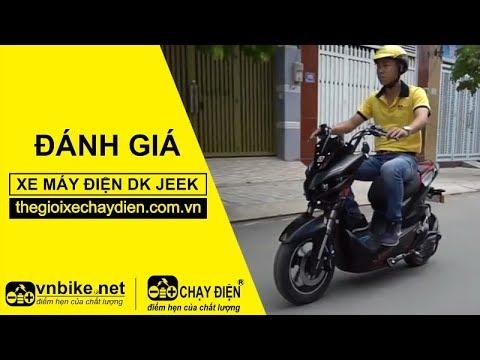 Đánh giá xe máy điện Dk Jeek