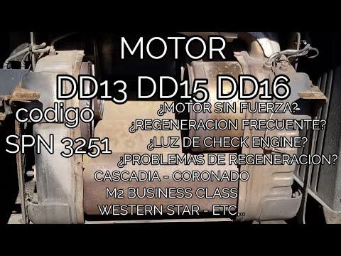 DD15 DOC face plug cleaning procedure  Fault code 3251 FMI 0 & 2 DPF