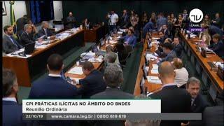 CPI do BNDES - Votação do relatório final - 22/10/2019 09:30
