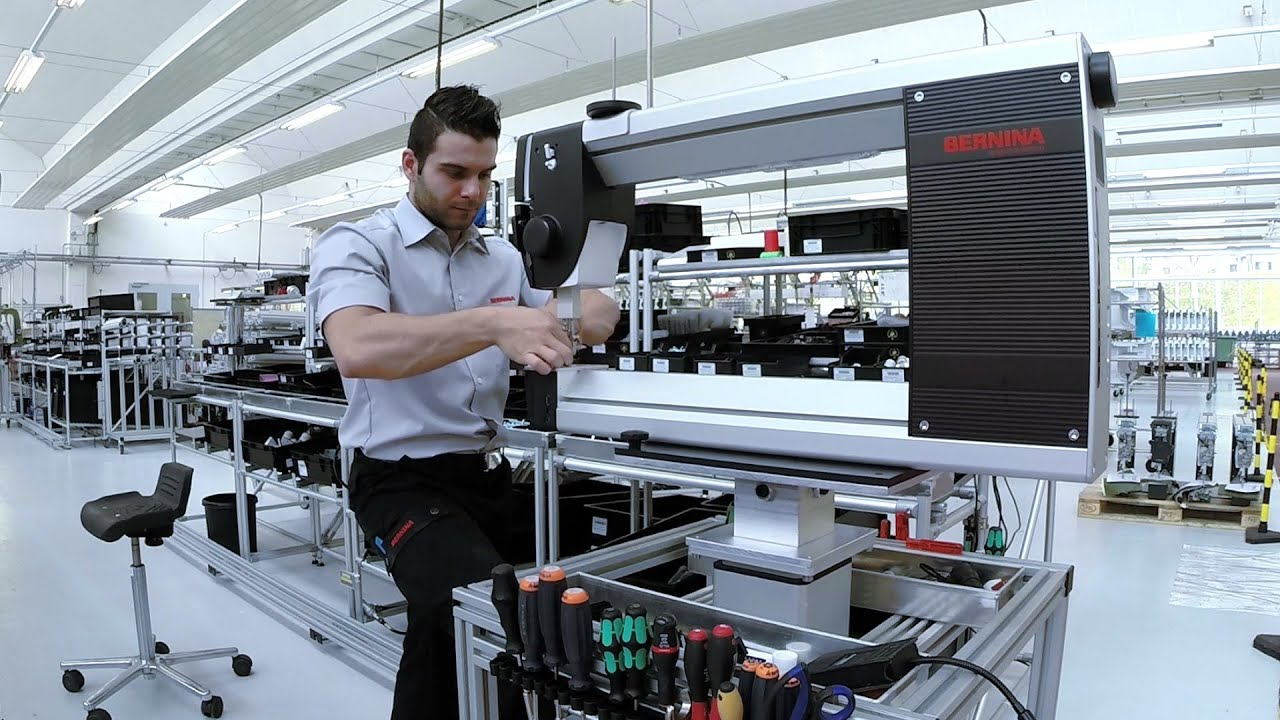 Manufacturing of the BERNINA Q Series