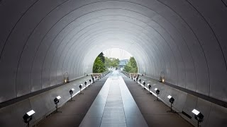 IM Pei's Miho Museum Provides Backdrop For Louis Vuitton Resort 2018 Show