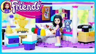 Emmas Deluxe Bedroom LEGO Friends Build Review Silly Play Kids Toys