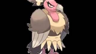 Mandibuzz  - (Pokémon) - Pokemon Black and White - Mandibuzz's Cry