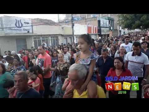Multidão acompanha procissão de São Sebastião em Belo Jardim (2018)
