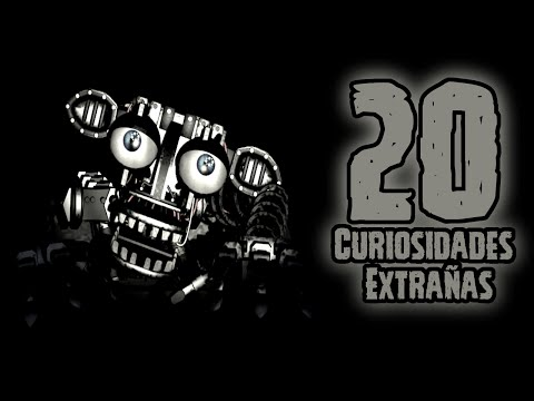 TOP 20: Las 20 Curiosidades Extrañas Del Endoesqueleto de Five Nights At Freddy's | fnaf | fnaf 2