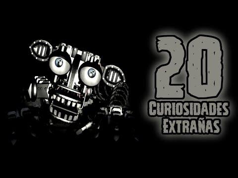 TOP 20: Las 20 Curiosidades Extrañas Del Endoesqueleto de Five Nights At Freddy's | fnaf | fnaf 2
