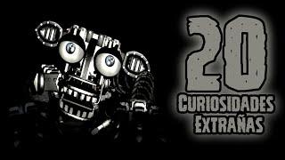 TOP 20: Las 20 Curiosidades Extrañas Del Endoesqueleto de Five Nights At Freddy's   fnaf   fnaf 2