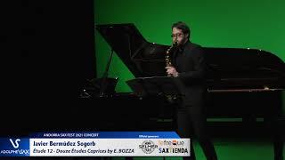 Javier Bermúdez Sogorb plays Étude 12 – Douze Études Caprices by Eugène BOZZA