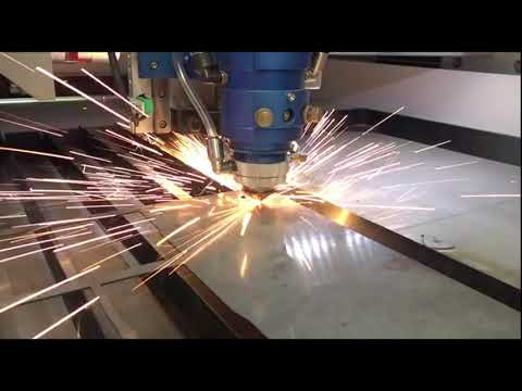Cięcie metalu - laser WS Co2 seria CM | Metal cutting by WS Co2 laser U series - zdjęcie
