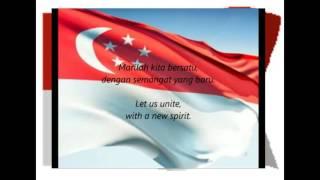 Singaporean National Anthem Majulah Singapura with English Lyric