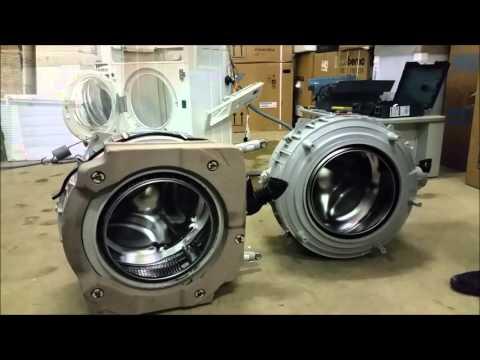 Tutorial come smontare e sostituire la vasca e suoi cuscinetti a una lavatrice da incasso