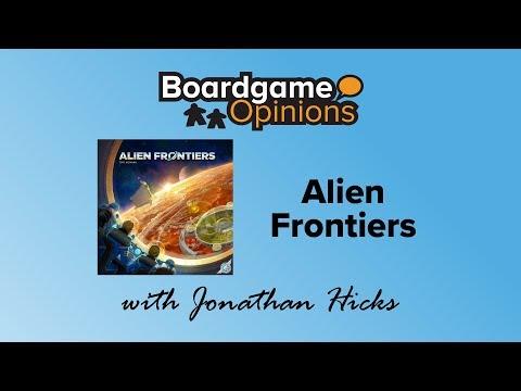 Boardgame Opinions: Alien Frontiers