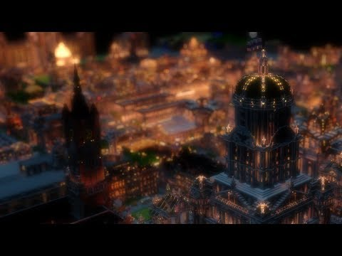 Imperial City at Night - Animated Minecraft Cinematic ...