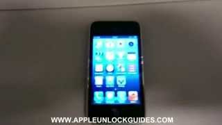 How to unlock iPhone 3GS - Works with ANY Carrier - Simple Guide !