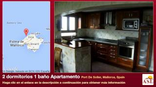 preview picture of video '2 dormitorios 1 baño Apartamento se Vende en Port De Soller, Mallorca, Spain'