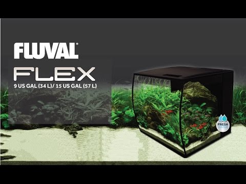 Fluval Flex fish tank aquarium Unboxing