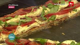 ¡Paula Chaves y Marley cocinan con Donato en Roma! - Por el Mundo 2018