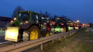 Video Rollender Shitstorm im Havelland: 8.000 Traktoren unterwegs!