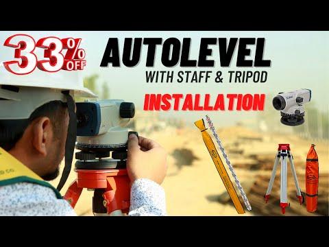 Aluminium Leveling Staff