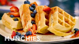 How To Make Perfect Waffles With Restaurant Style Toppings