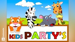 NIÑOS CANCIONES INFANTILES/KIDS PARTY SONGS las mas divertidas ronda infantiles,Favorite Kids' Songs
