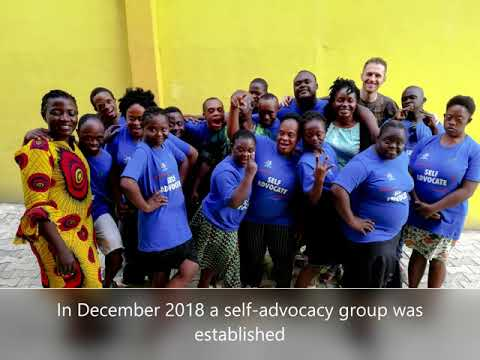 Watch video DSi project update: Nigeria self-advocacy