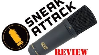 MXL 2003a Review by Jason Groves at Sneak Attack Recording Studio