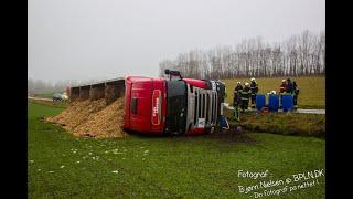 27.01.2021 / FUH Fastklemte/Brandfare LASTBIL/BUS / Stenløse