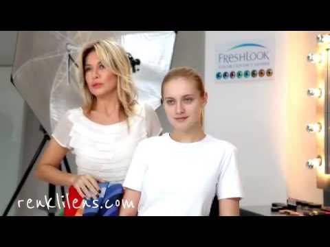 Yaz Kadınına Uygun Makyaj Önerileri ve Renkli Kontakt Lens Seçimi