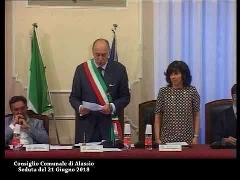 Consiglio Comunale di Alassio, seduta del 21 giugno 2018