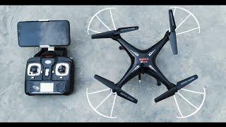 Syma X5SW FPV Drone 2 2.4Ghz 4CH 6-Axis Gyro Drone Altitude Hold Camera Wi-Fi Quad Copter