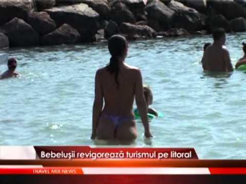 Bebelusii revigoreaza turismul pe litoral