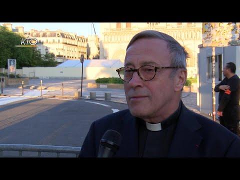 Notre-Dame : la prière du recteur un an après l'incendie