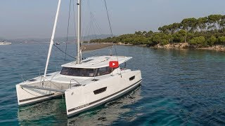 Catamarans BROCHURE-FOUNTAINE PAJOT LUCIA 40, Manufacturer: FOUNTAINE PAJOT , Model Year: 2019, Length: 38ft, Model: LUCIA 40, Condition: New, Listing Status: Catamaran for Sale, Price: USD